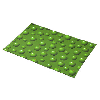 Green Apples Pattern Placemat