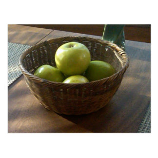 Green Apples Postcard