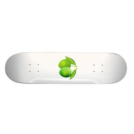Green Apples Skateboard Decks