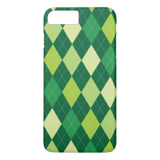 Green argyle pattern iPhone 8 plus/7 plus case