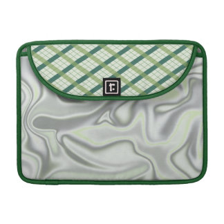 Green Argyle Sleeve For MacBook Pro