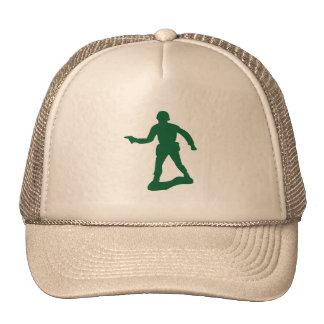Green Army Man Mesh Hat