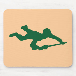 Green Army Man Mouse Mat