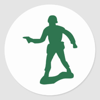 Green Army Man Stickers