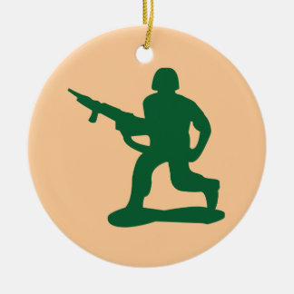 Green Army Men Christmas Tree Ornaments