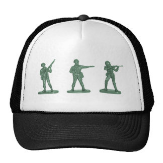 Green Army Men Hats
