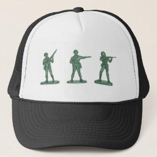 Green Army Men Trucker Hat