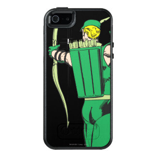 Green Arrow Back View OtterBox iPhone 5/5s/SE Case