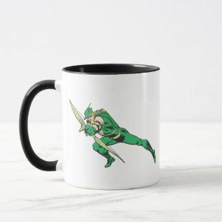 Green Arrow Crouches Mug