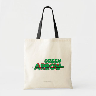 Green Arrow Logo 2 Tote Bag