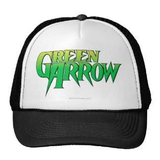 Green Arrow Logo 3 Cap