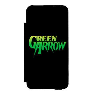 Green Arrow Logo 3 Incipio Watson™ iPhone 5 Wallet Case