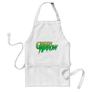 Green Arrow Logo 3 Standard Apron