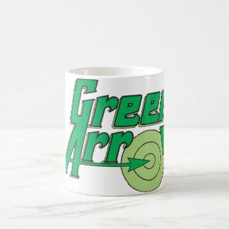 Green Arrow Logo Coffee Mug
