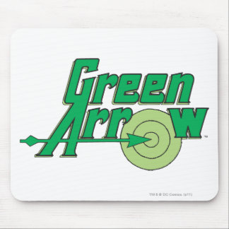 Green Arrow Logo Mouse Pad