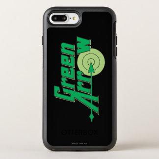 Green Arrow Logo OtterBox Symmetry iPhone 8 Plus/7 Plus Case