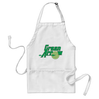 Green Arrow Logo Standard Apron