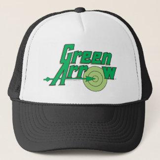 Green Arrow Logo Trucker Hat