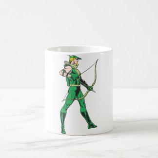 Green Arrow Profile Coffee Mug