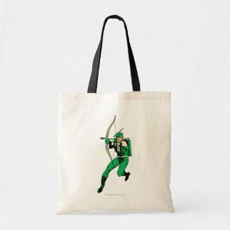 Green Arrow Shooting Arrow