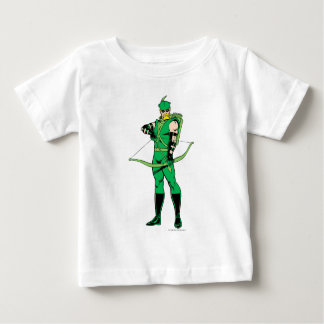Green Arrow Standing with Bow Baby T-Shirt
