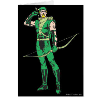 Green Arrow with Target Card