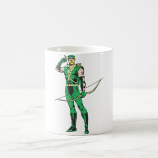 Green Arrow with Target Coffee Mug