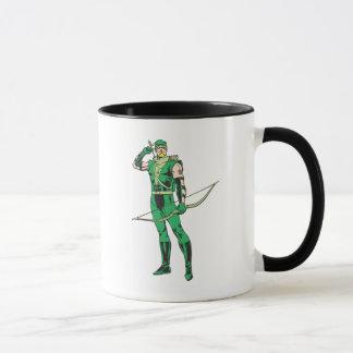 Green Arrow with Target Mug