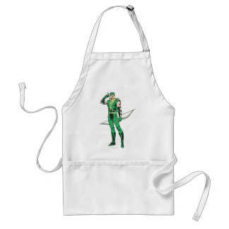 Green Arrow with Target Standard Apron