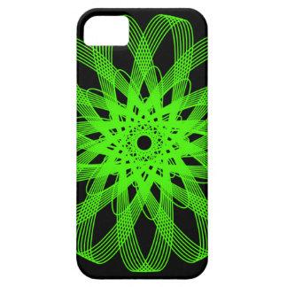 Green Atom iPhone 5 case