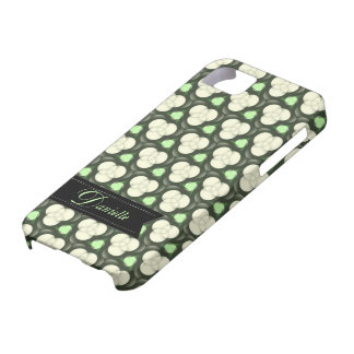 Green Atoms Modern pattern  iPhone 5 Case-mate iPhone 5 Cover