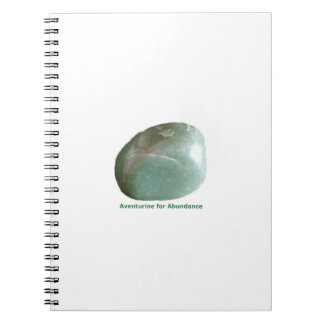 Green Aventurine Notebook by IreneDesign2011