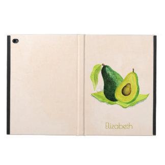 Green Avocado Still Life Fruit in Watercolors Powis iPad Air 2 Case