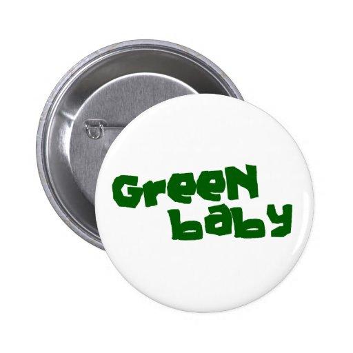 Green baby pin