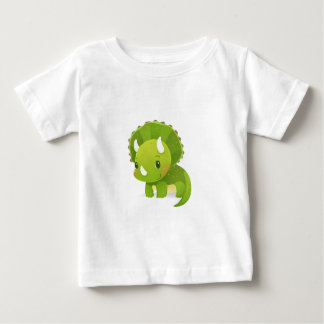 green baby cute dinosaur cartoon baby T-Shirt