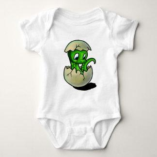 Green Baby Dinosaur Baby Bodysuit