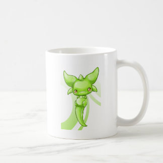 Green Baby Dragon Coffee Mug