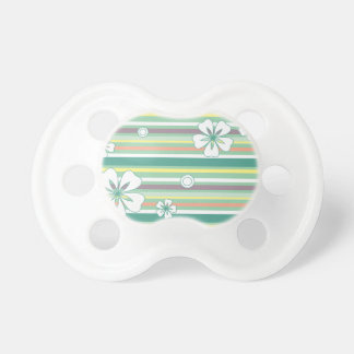 green baby pacifier