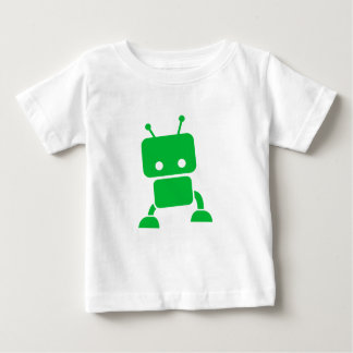 Green Baby Robot Baby Clothes Baby T-Shirt