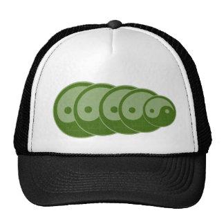 GREEN Balance :  YIN YANG YinYang Cap