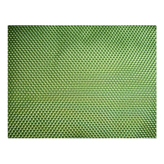 Green Ballistic Nylon Postcard