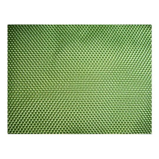 Green Ballistic Nylon Postcard