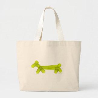 Green Balloon Doggie Tote Bag