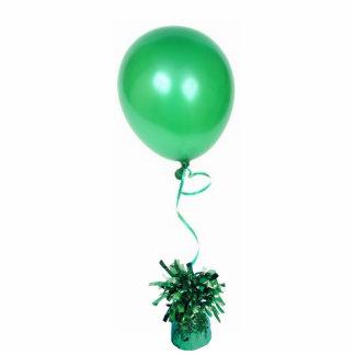 Green Balloon Sculpture Acrylic Cut Out