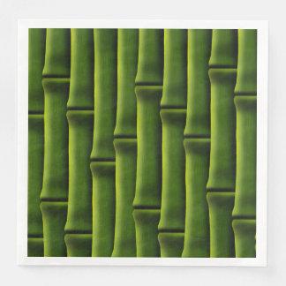 Green Bamboo Disposable Serviettes
