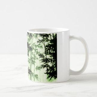 green bamboo - green bamboo coffee mug
