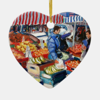 green bananas moore street dublin ceramic heart decoration
