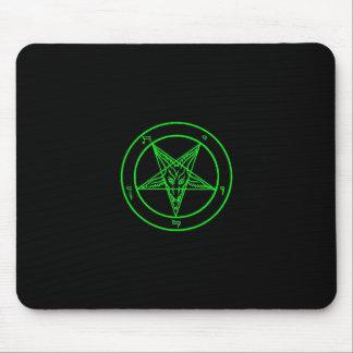 Green Baphomet Mousepad