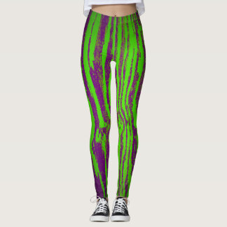 Green Bark Leggings