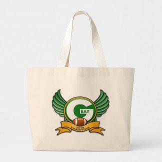 Green Bay 2010 Champions Jumbo Tote Bag